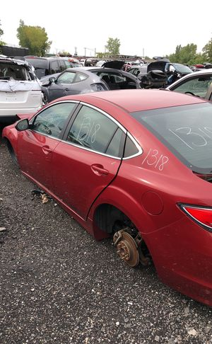 Selling parts for a red Mazda 6 for Sale in Warren, MI