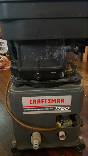 Craftsman High pressure washer 1750 (parts) for Sale in Grand Prairie, TX