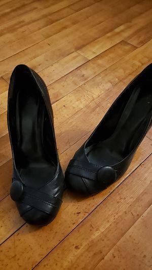 black heels size 8 for Sale in Salem, MA