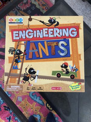 Engineering ants board game for Sale in Raleigh, NC