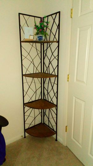 Rustic 6' foldable shelving unit! for Sale in Gaithersburg, MD