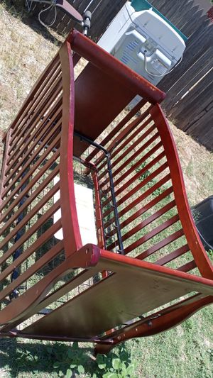 Wooden baby crib for Sale in Midland, TX