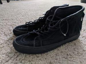 Black Vans Sk8-Hi model shoes for Sale in San Antonio, TX