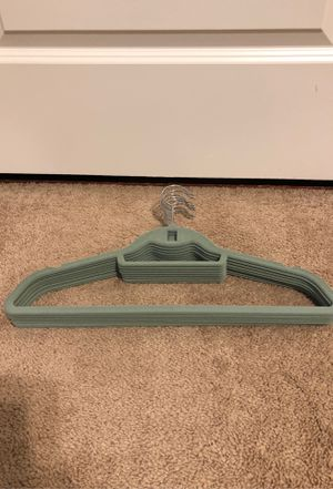 8 Green felt Hangers for Sale in Bethesda, MD