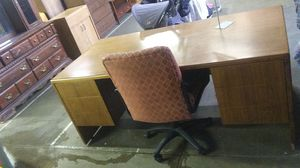 Secretary desk with desk chair for Sale in Allentown, PA