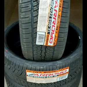 245x30x22 NEW SETS Of ULTRA SPORT ALL SEASON TIRES for Sale in Pineville, NC