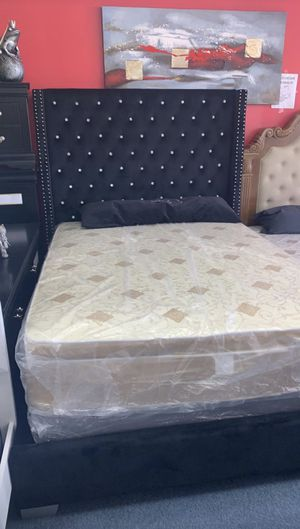 New Queen bed with matreses for $499 for Sale in Garland, TX