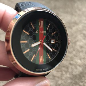 GUCCI ROSE GOLD SPORT WATCH for Sale in Silver Spring, MD