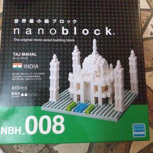 Brand New Nanoblock Taj Mahal India 410 Piece Set In Box Unopened for Sale in Belle Isle, FL