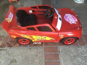 Lighting McQueen power wheel 6 volt for Sale in Los Angeles, CA