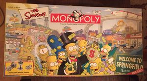 Simpsons Monopoly Board Game for Sale in Millersville, MD