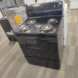2020 Brand New Black GE Electric Range-Warranty Included for Sale in Sacramento, CA