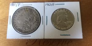1881/P & 1963 P Silver Coins for Sale in Torrance, CA