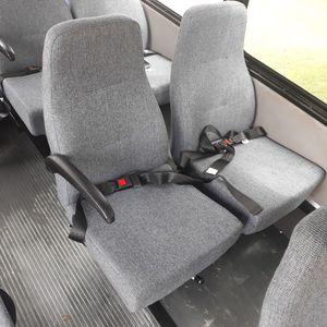 shuttle bus seats (per row = 2 seats) for Sale in Grand Prairie, TX