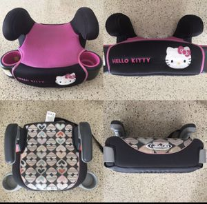 Two (2) Child Kids Booster Car Seat - two itens for 34.00 or 19.00 each for Sale in Boca Raton, FL