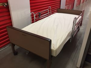 Motorized Hospital bed frame & Matress for Sale in Las Vegas, NV