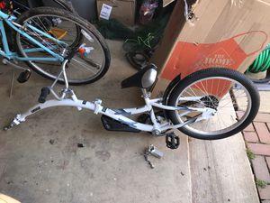 Like new trailer bike for Sale in Ashburn, VA