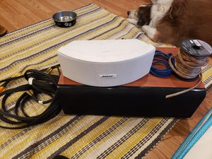 Bose Speaker w/ C-Serious ENERGY Speaker and all wires for Sale in San Jose, CA