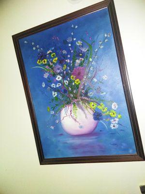 Big framed painting for Sale in Lakeland, FL