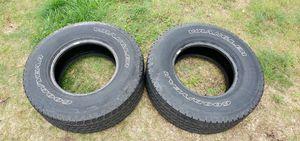 Goodyear Wrangler 2 Kevlar Tires P265/75R16 for Sale in Saint Germain, WI