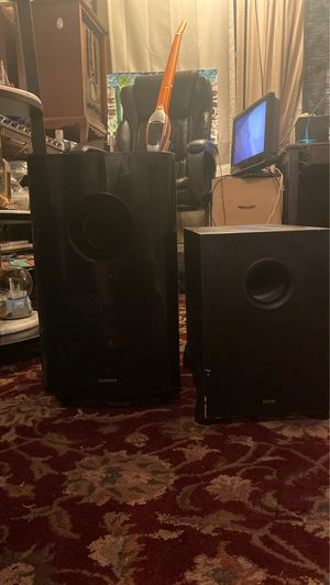 2 Amped subwoofers for Sale in Yardley, PA