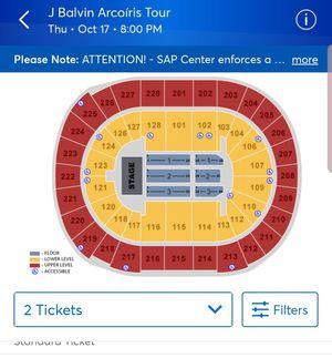 Tickets para JBalvin for Sale in San Jose, CA