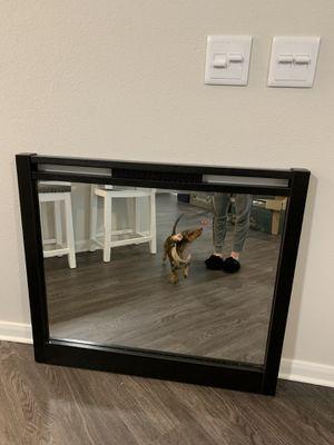 Black Wall or Dresser Mirror for Sale in Austin, TX