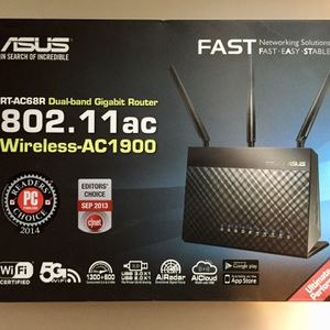 ASUS RT-AC68R 802.11ac wireless router for Sale in Cincinnati, OH