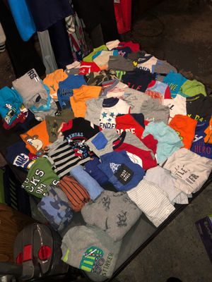 18 months long sleeve/short sleeve shirts for Sale in Taylor, MI