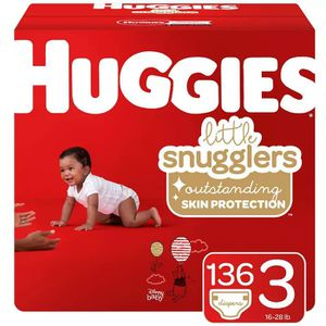 Huggies Lil Snugglers big box Diapers *Never Opened* for Sale in Hull, MA