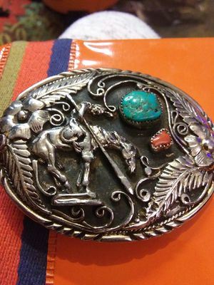 Indian style belt buckles for Sale in Oklahoma City, OK