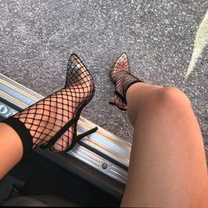 🚨ALMOST GONE🚨Limited edition barely there fishnet perspect pump for Sale in Ontario, CA