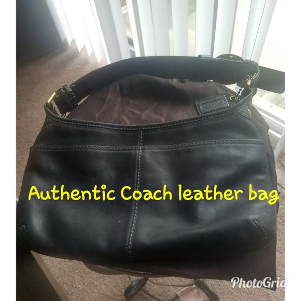 Authentic COACH Leather Bag