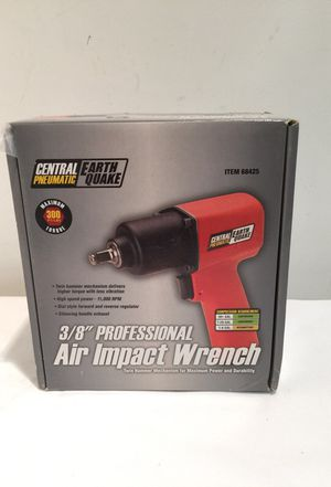 "Brand new central pneumatic 3/8"" professional air impact wrench for Sale in Murray, UT"