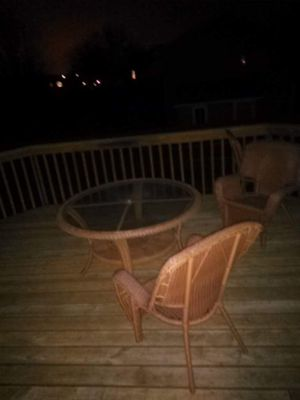 Wicker patio furniture for Sale in Ramsey, MN
