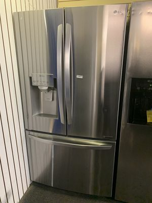 """LG, 36"""" Wide Counter Depth, New Open Box, French Door, Stainless Steel Refrigerator, 6 Months Warranty for Sale in Randallstown, MD"""