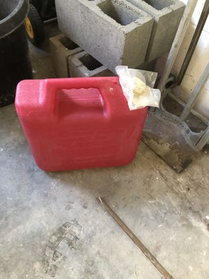 5 gallons full with diesel for Sale in Shoreline, WA