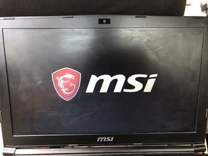 Msi gaming laptop for Sale in Rocky Mount, VA