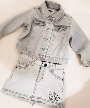 Jean style jacket and skirt for Sale in Las Vegas, NV