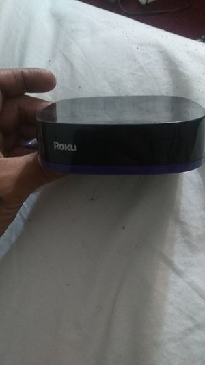 Roku box with remote for Sale in San Antonio, TX