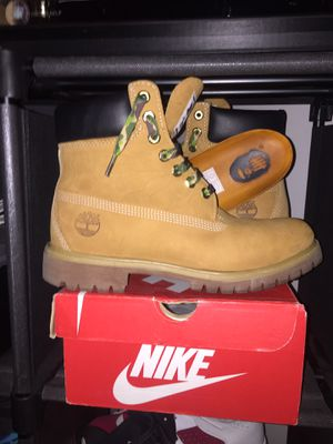 "A bathing ape x Timberland 6"" Boots for Sale in Alexandria, VA"