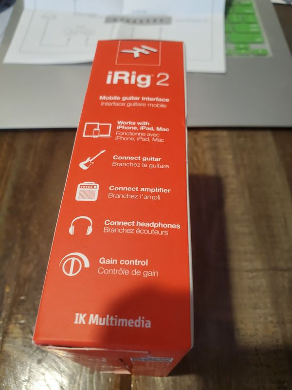 *NEW* iRig 2 mobile interface