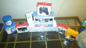Nintendo Switch Controller Roku stick Motorola Baby cam PlayStation Game drive 4tb Baby formula Google WiFi system for Sale in Nashville, TN