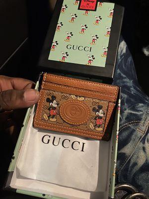 Disney X Gucci Beige Carr Holder for Sale in Murphy, TX