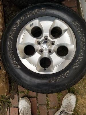 4 jeep wrangler Sahara wheels for Sale in Washington, PA