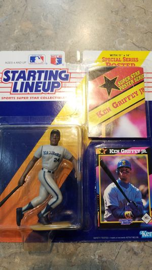 Ken Griffey Jr. Starting Lineup Collectible for Sale in Sandy, OR
