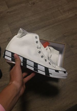 Off white converse for Sale in Marengo, OH