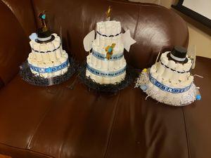 Babyshower diaper cake for Sale in Hampton, VA