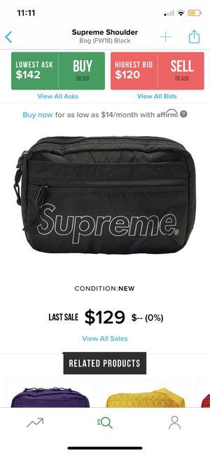 Supreme shoulder bag (black) for Sale in Fort Lauderdale, FL