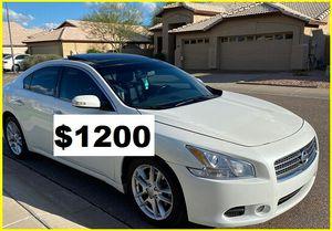 Price$1200 NissanMAxima for Sale in Richmond, VA